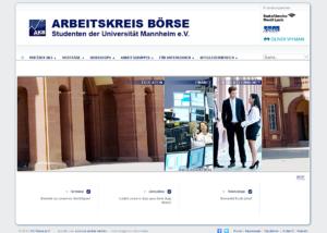Arbeitskreis Börse - Studenten der Universität Mannheim e.V.