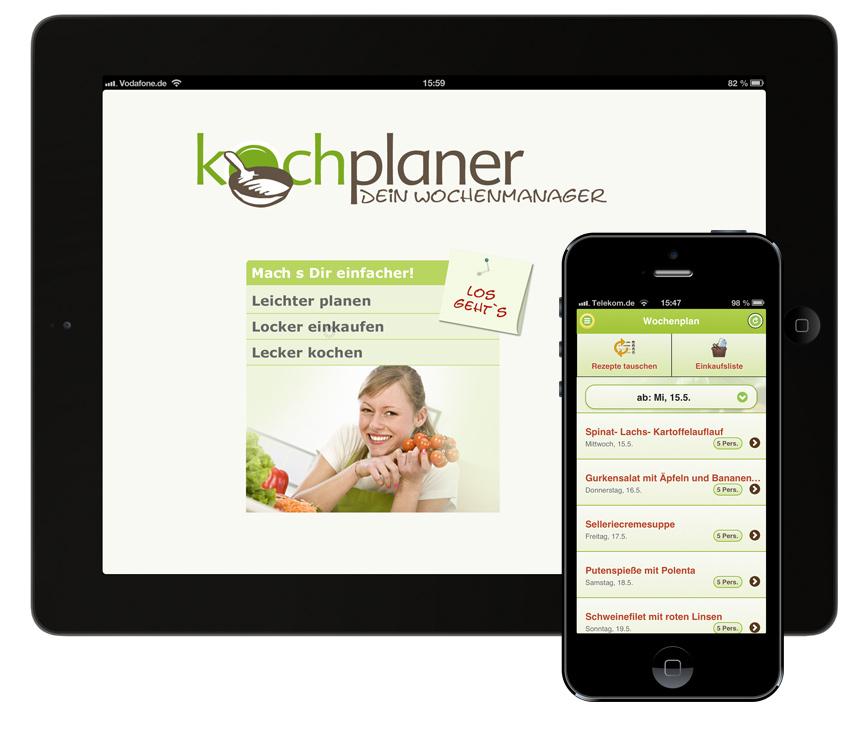 Kochplaner App