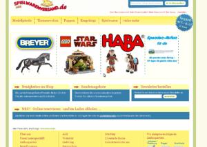 Spielwarenversand.de Startseite