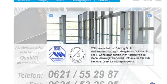 Brütting Gebäudereinigung GmbH - Startseite