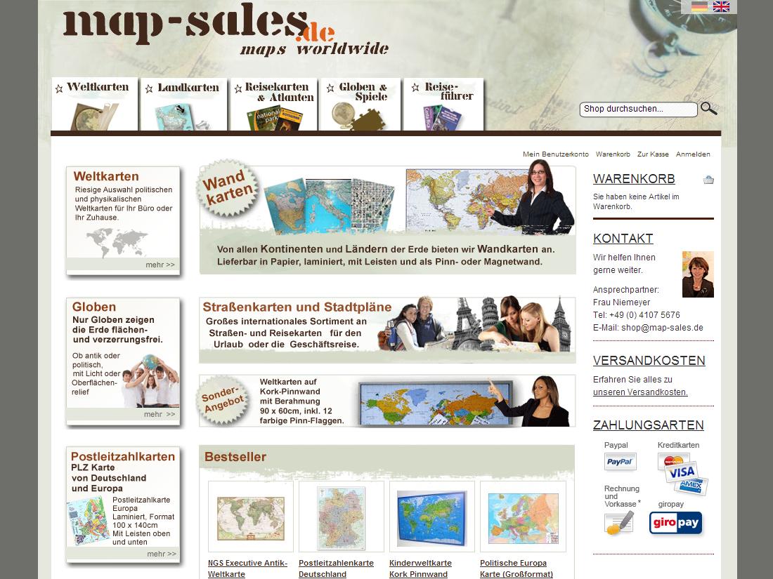 map-sales Startseite