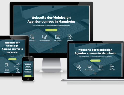 Landingpage Webseite Mannheim